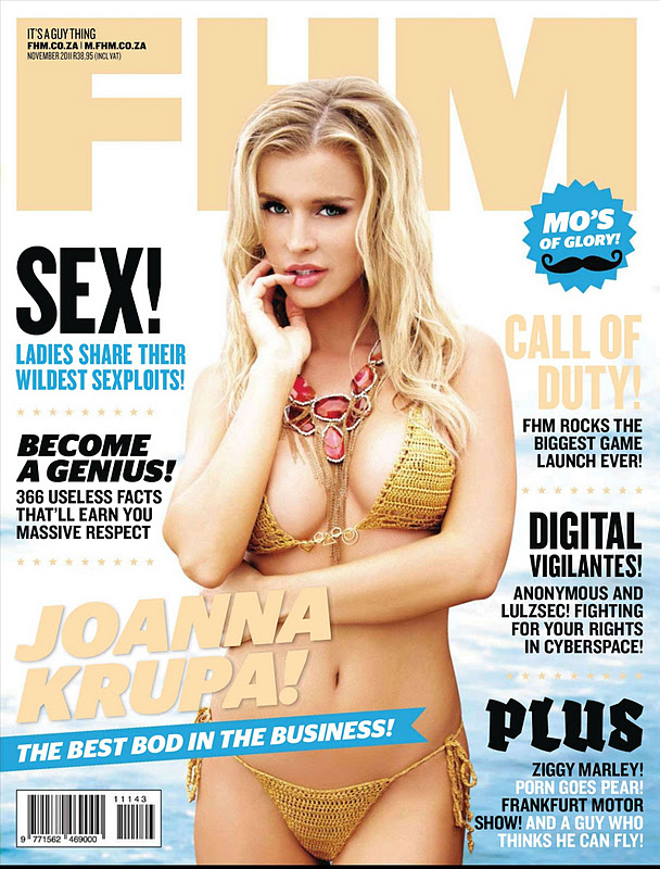 Joanna Krupa – FHM South Africa Magazine (November 2011 )
