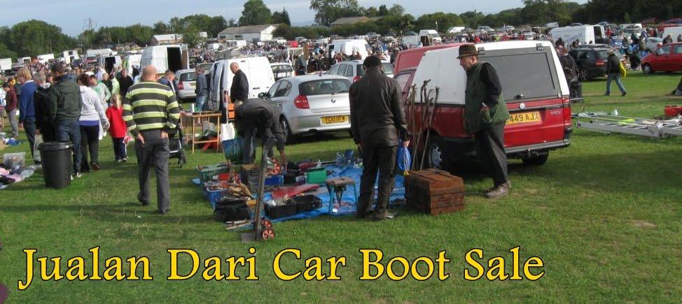 Jualan Dari Car Boot Sale