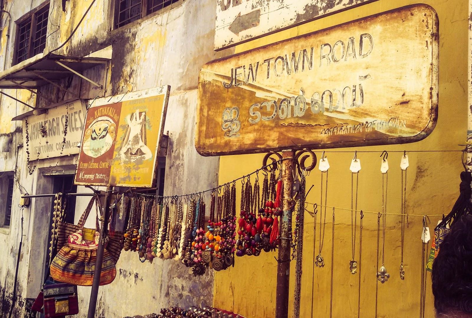 A day in Jew Town (Kochi) - Pop of Joy