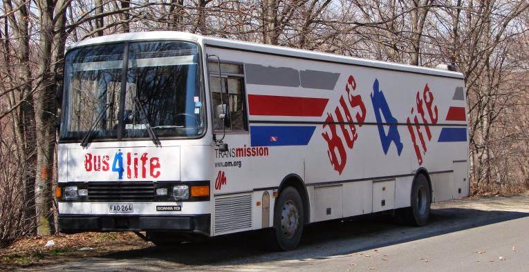 Bus4life matkapäiväkirja