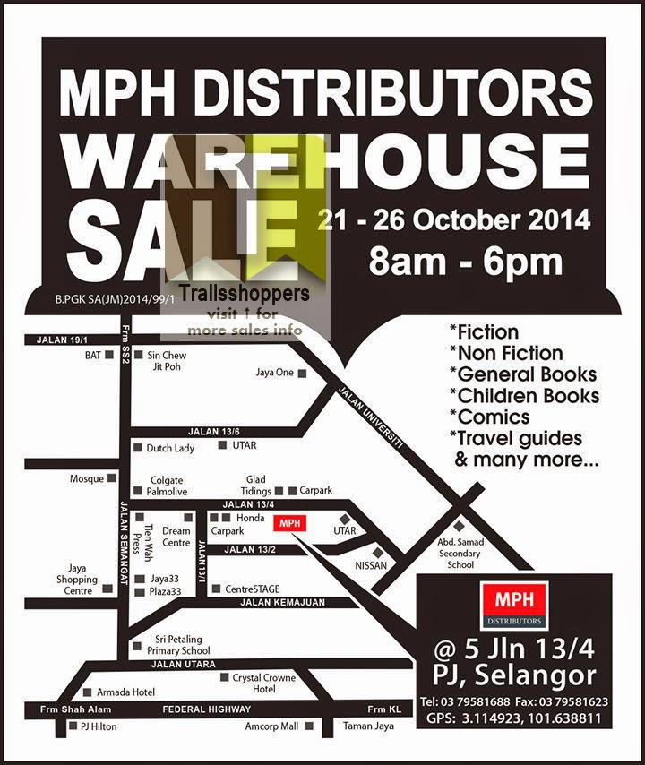 MPH Distributors Warehouse Sale petaling jaya