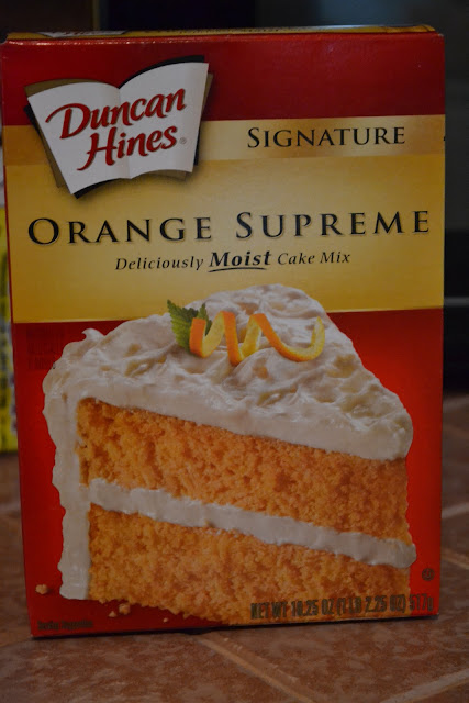 Duncan Hines Orange Creamsicle Cake
