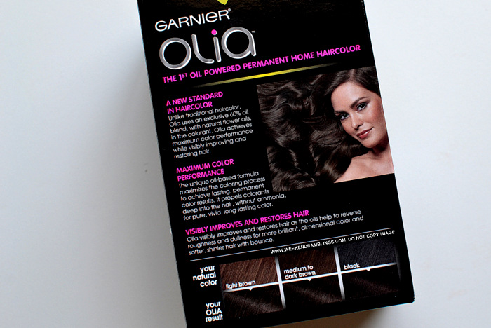 Garnier Olia At Home Hair Color Dark Brown 4.0 Indian Makeup Beauty Haircare Blog Review