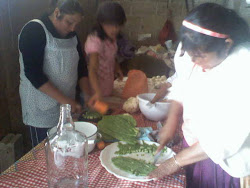 Preparación de verduras en escabeche