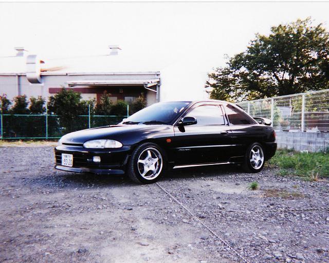Mitsubishi Mirage Asti, CA4A, japońskie, sportowe, coupe, JDM, MIVEC, 4G92
