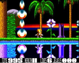 Blaze, el clon de Sonic The Hedgehog para Amiga