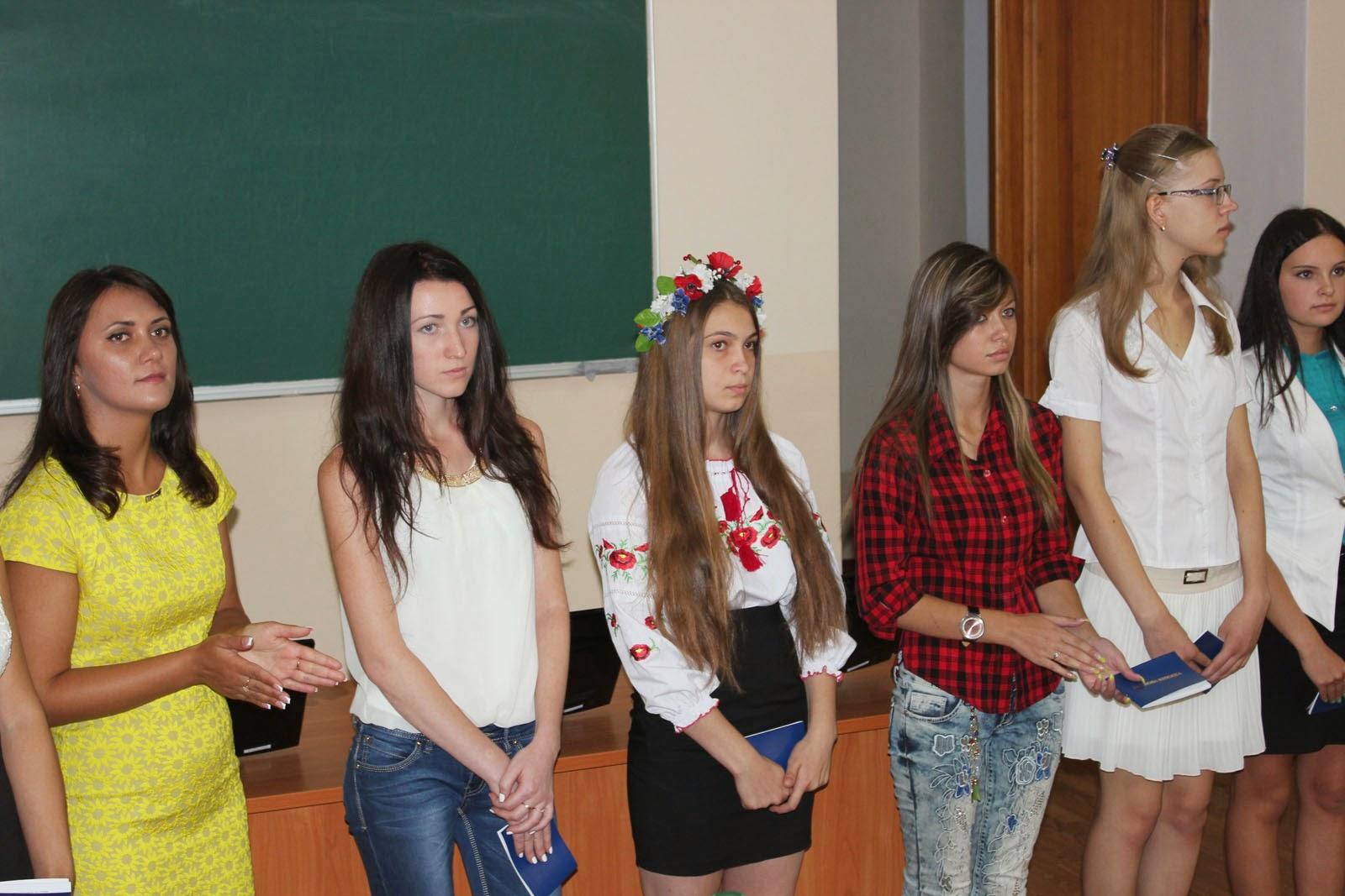 Посвята у студенти на обліково-фінансовому факультеті. Фото 8.