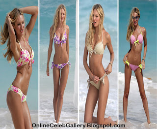 Candice Swanepoel bikini, Victoria Secret models bikini