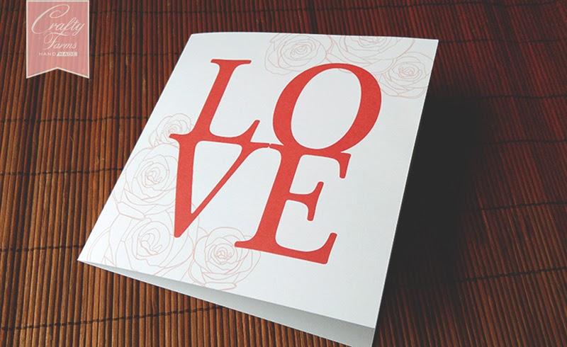 LOVE Wedding Card, Kad Kahwin Malaysia