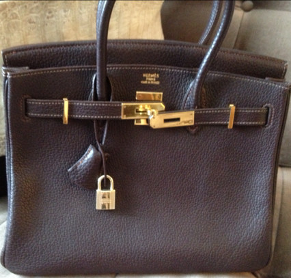 blue ostrich handbag - Fashion PULIS: The Tale of the Fake Hermes Bag