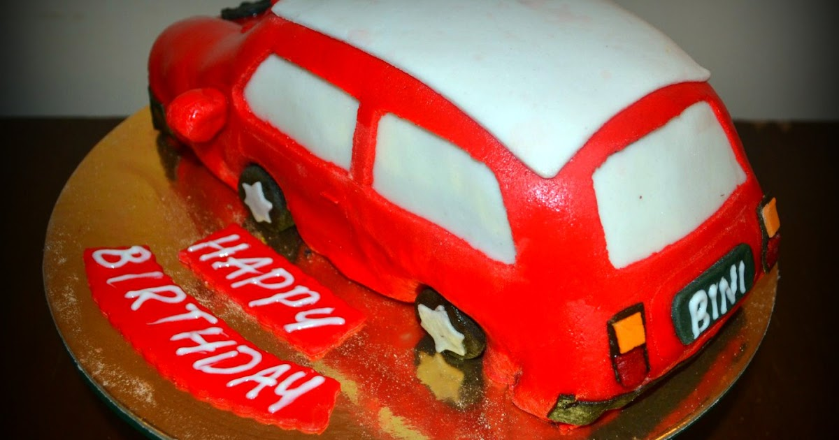 Car Themed Cake Designs