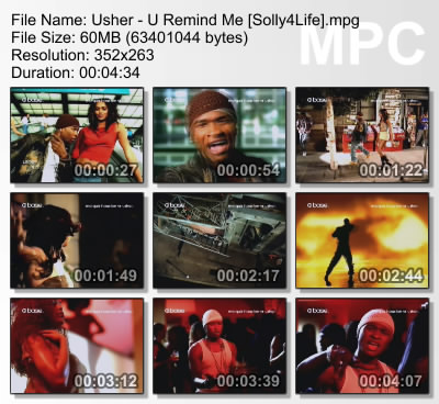 Music video usher you remind me - Images remind us s ...