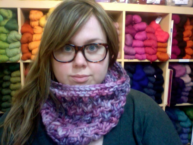 Gina Browns Yarn Vancouver Cell Cowl