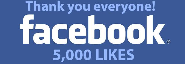 Facebook Takipci Sayimiz 5000'i asti