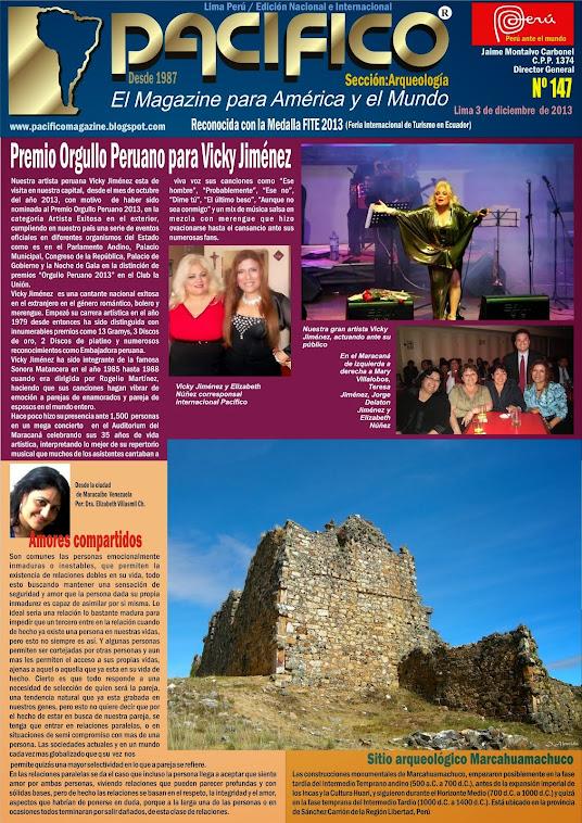 Revista Pacífico Nº 147 Arqueología