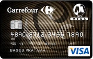 kartu kredit carrefour dari bank mega