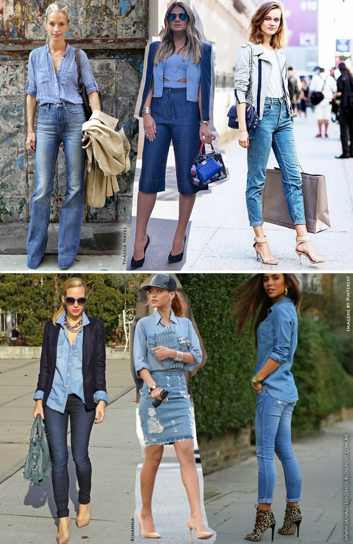 Blog de acessórios, blog da Jana, Joinville, Jeans, Denim, Jeans + Jeans