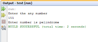 Palindrome or not in JAVA