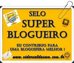 Selo super blogueiro