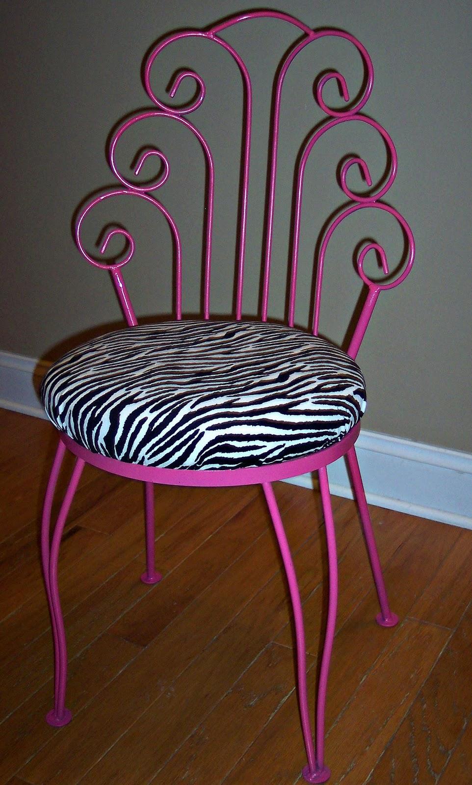 Uniquely chic furniture a little hot pink and zebra print