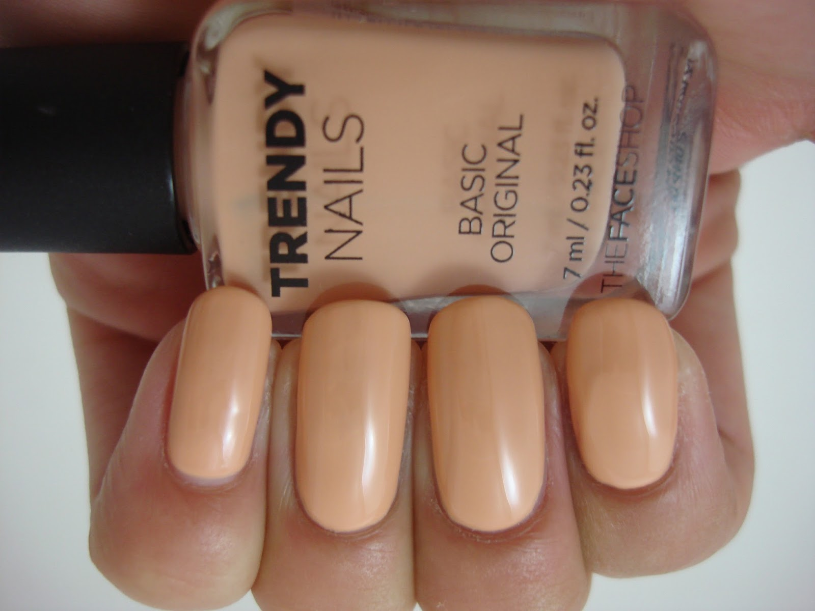 Intense Polish Therapy: The Faceshop | Trendy Nails Nail Polish!