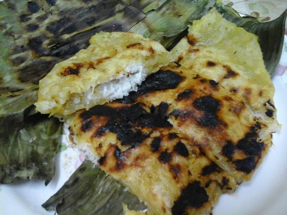 My Kitchen Diary Lempeng Pisang Inti Kelapa