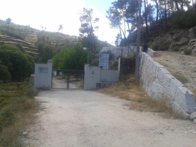 Entrada ETAR Sabugueiro