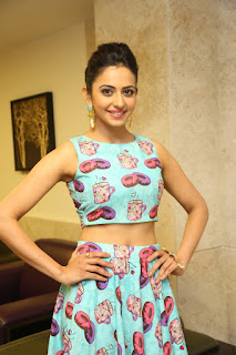 Actress Rakul Preet Singh  Pictures at Pandaga Chesko Success Meet  25285