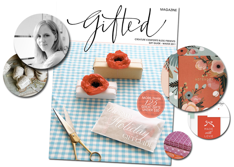 Gifted Magazine from Creature Comforts