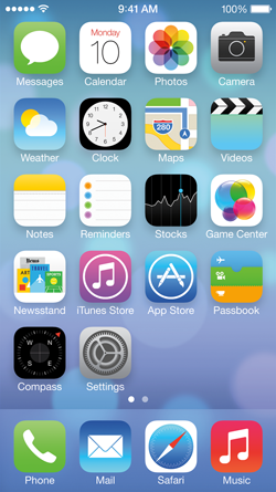 iOS 7 new version