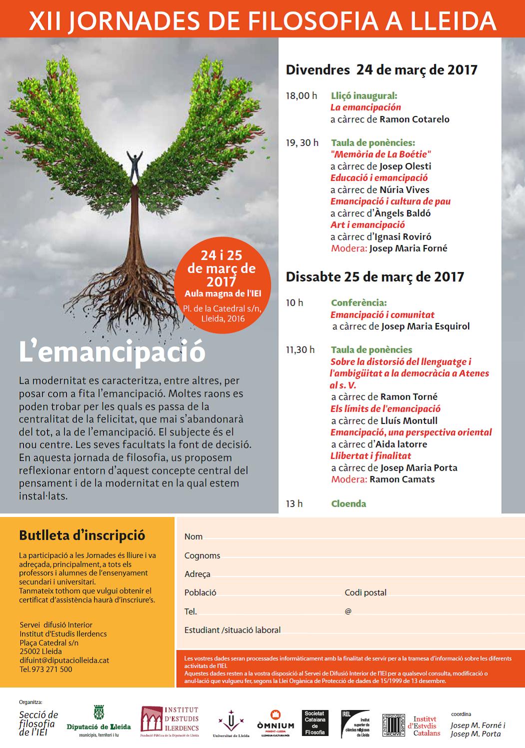 Conferencia de Palinuro: la emancipación