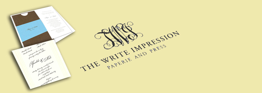 The Write Impression - Wedding Invitations in Metro Manila