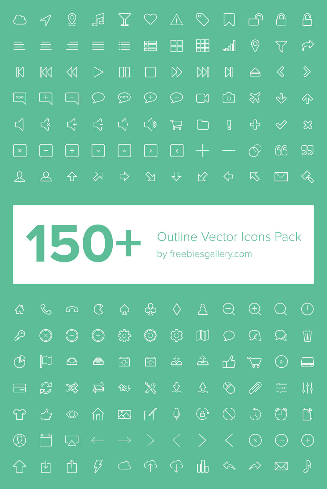 20 Free Icon Sets for Designers