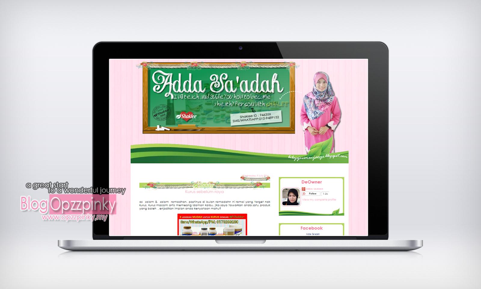 Edit Blog Cikgu Adda