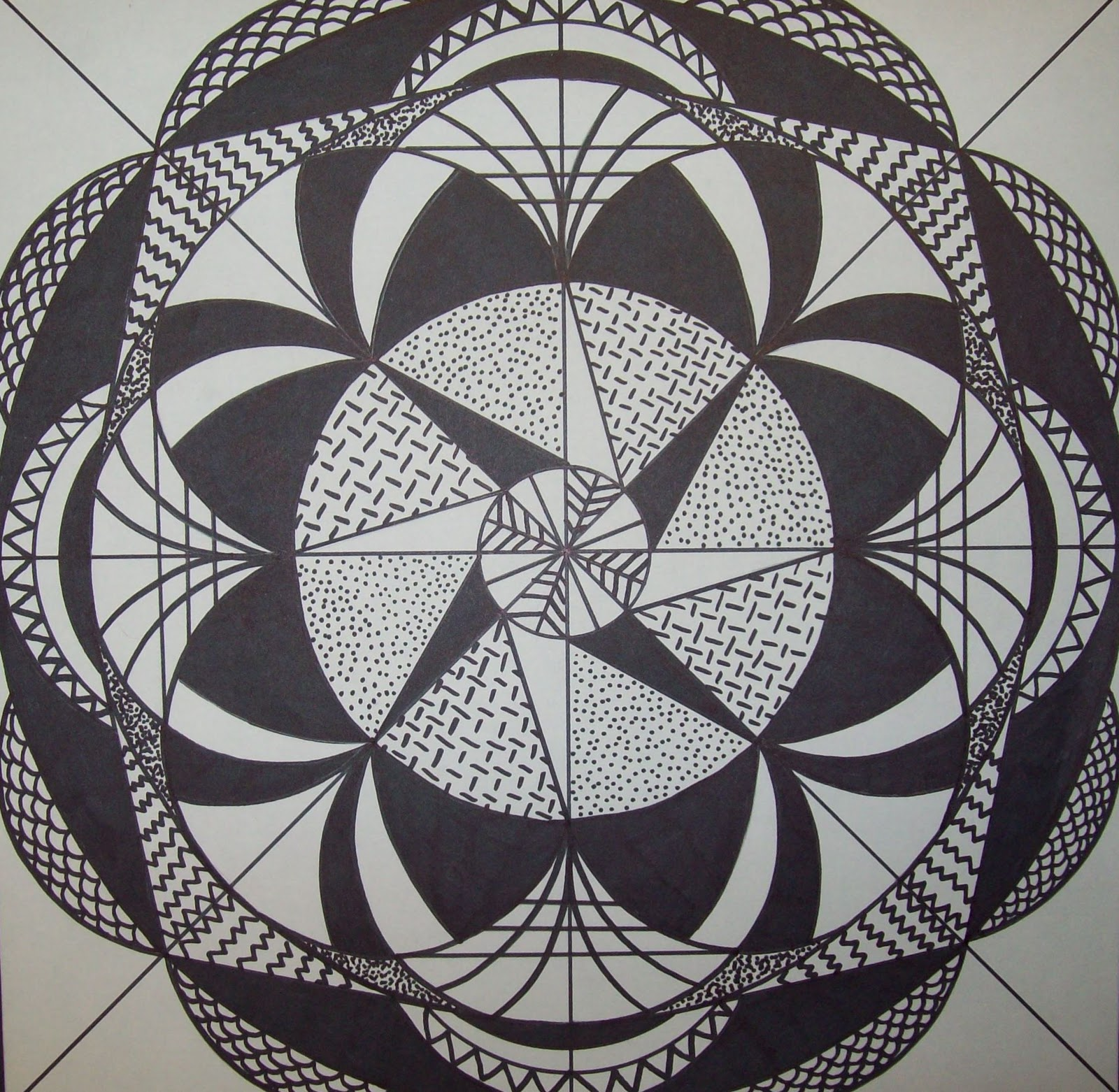 Radial Design Art : My artful nest i heart radial symmetry