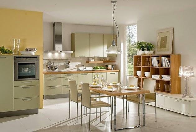 Fotos de cocinas lineales modernas colores en casa for Cocinas claras modernas