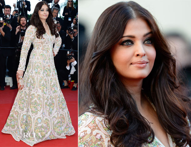 Aishwarya's Floral Dress, Armani Gown and Amazing Makeup at Cannes 2013