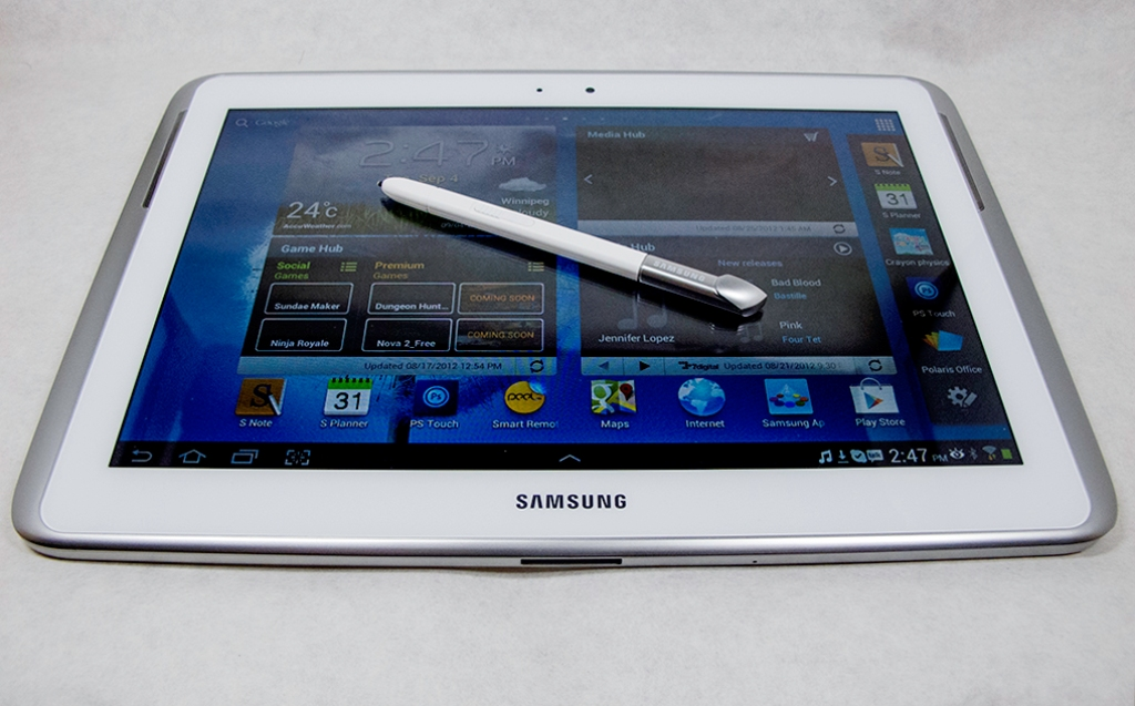 samsung galaxy note 10 1   tablets   mobile phones review