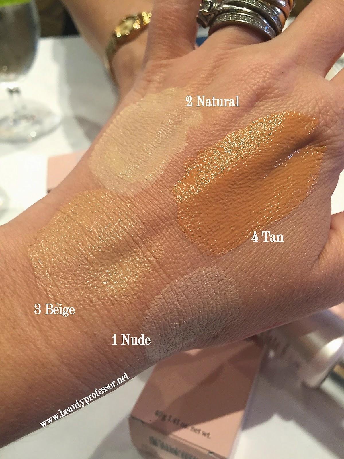 by terry cellularose moisturizing cc cream swatches
