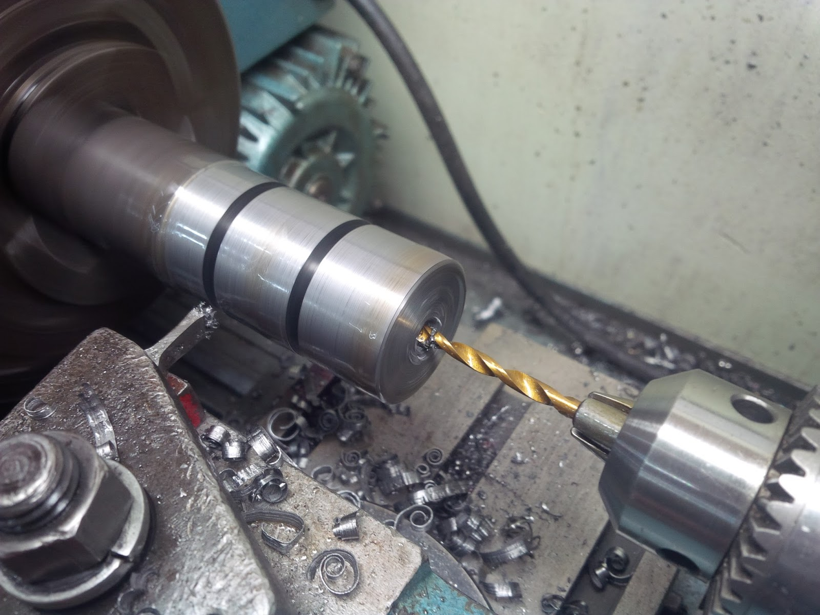Drilling The Support Brackets