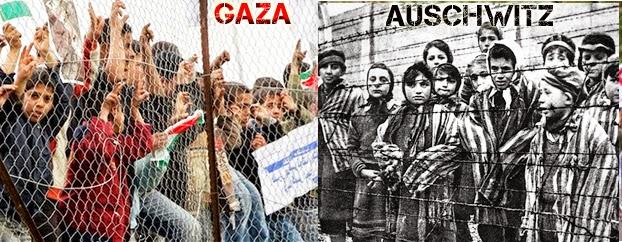 Risultati immagini per gaza auschwitz