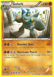 Golurk Pokemon Card Noble Victories Set