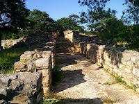 Estructura 42 Dzibilchaltun Zona Arqueologica Yucatan Mexico