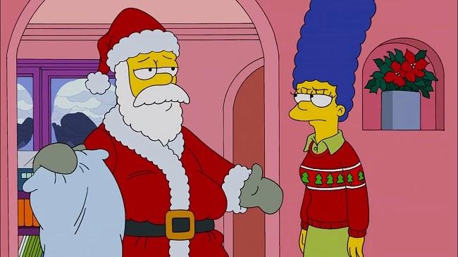 Los Simpsons- Capitulo 08 - Temporada 25 - Audio Latino - El Blues de la Blanca Navidad