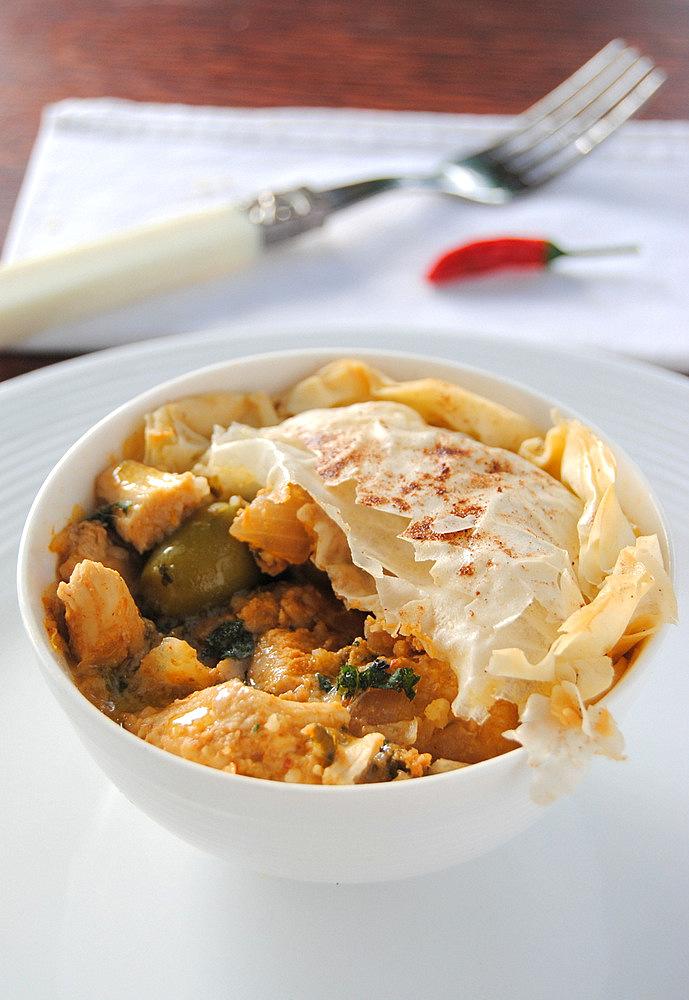 style chicken pie moroccan style chicken moroccan style chicken pie ...