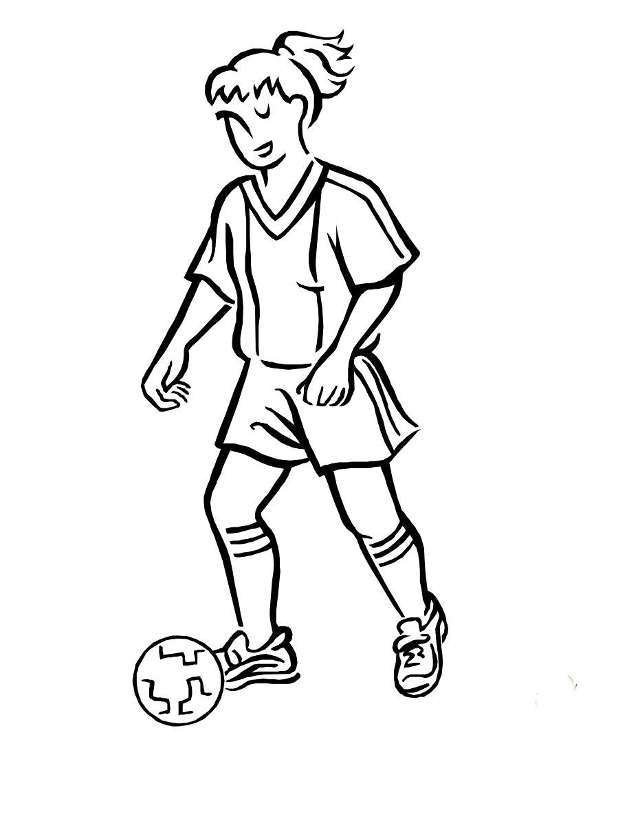 Sports graph Coloring Pages Kids