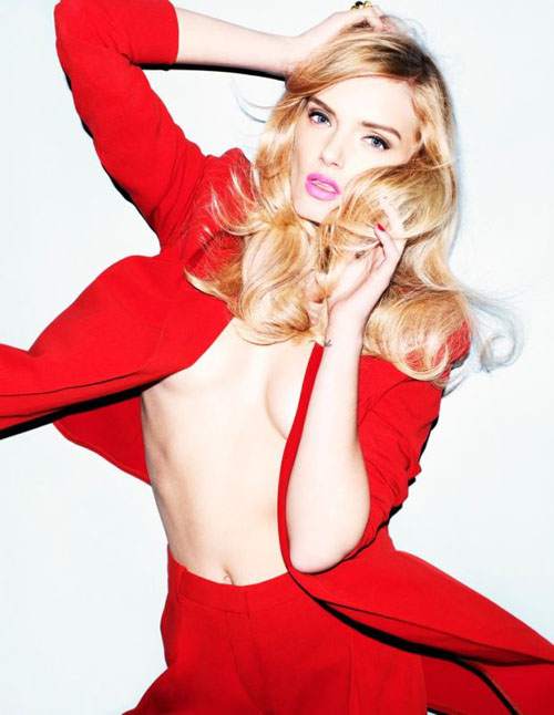 Lily Donaldson -Expensive model of the fashion world