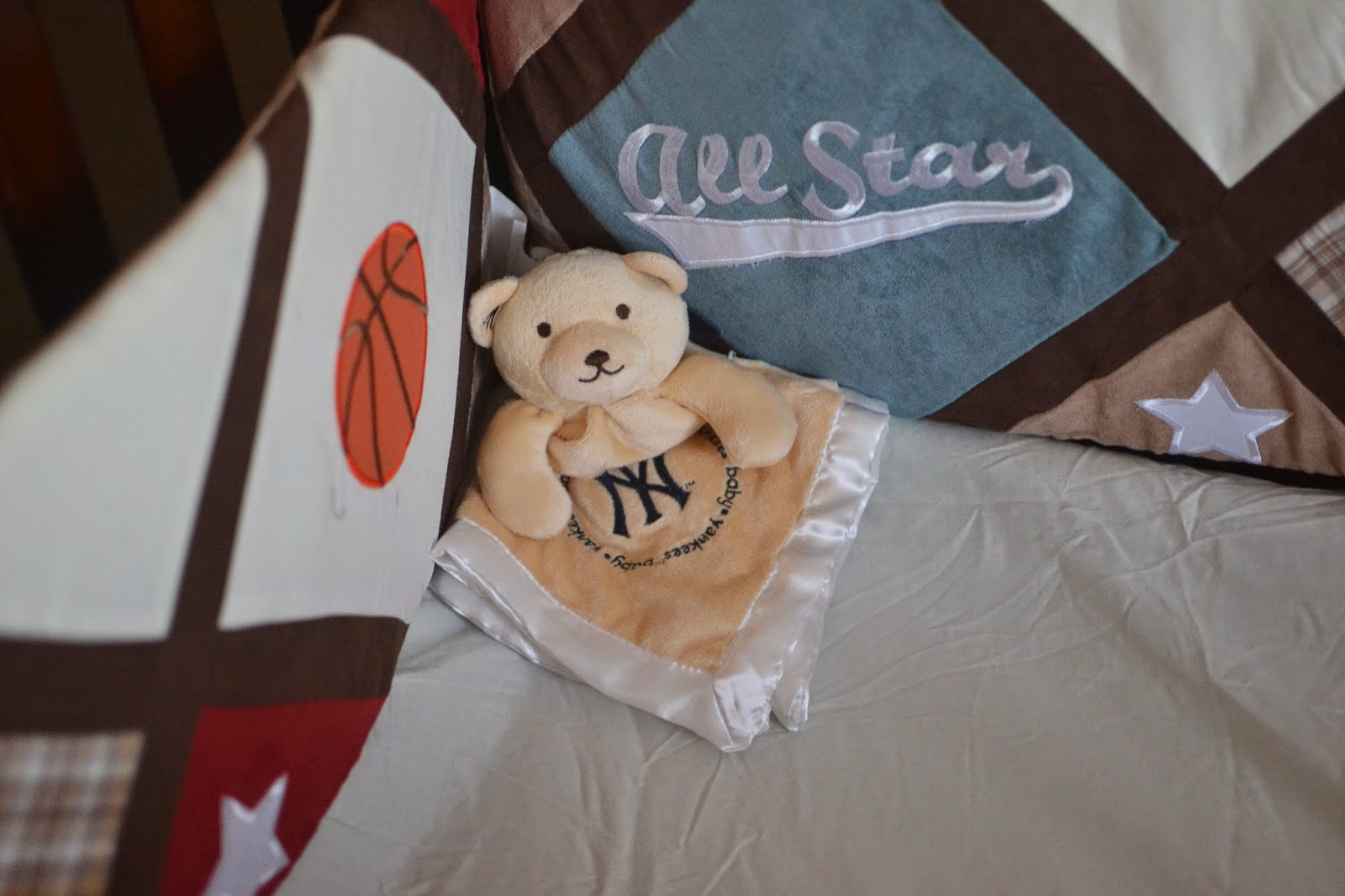 Security Bear Blankie from Baby Fanatic (Giveaway)