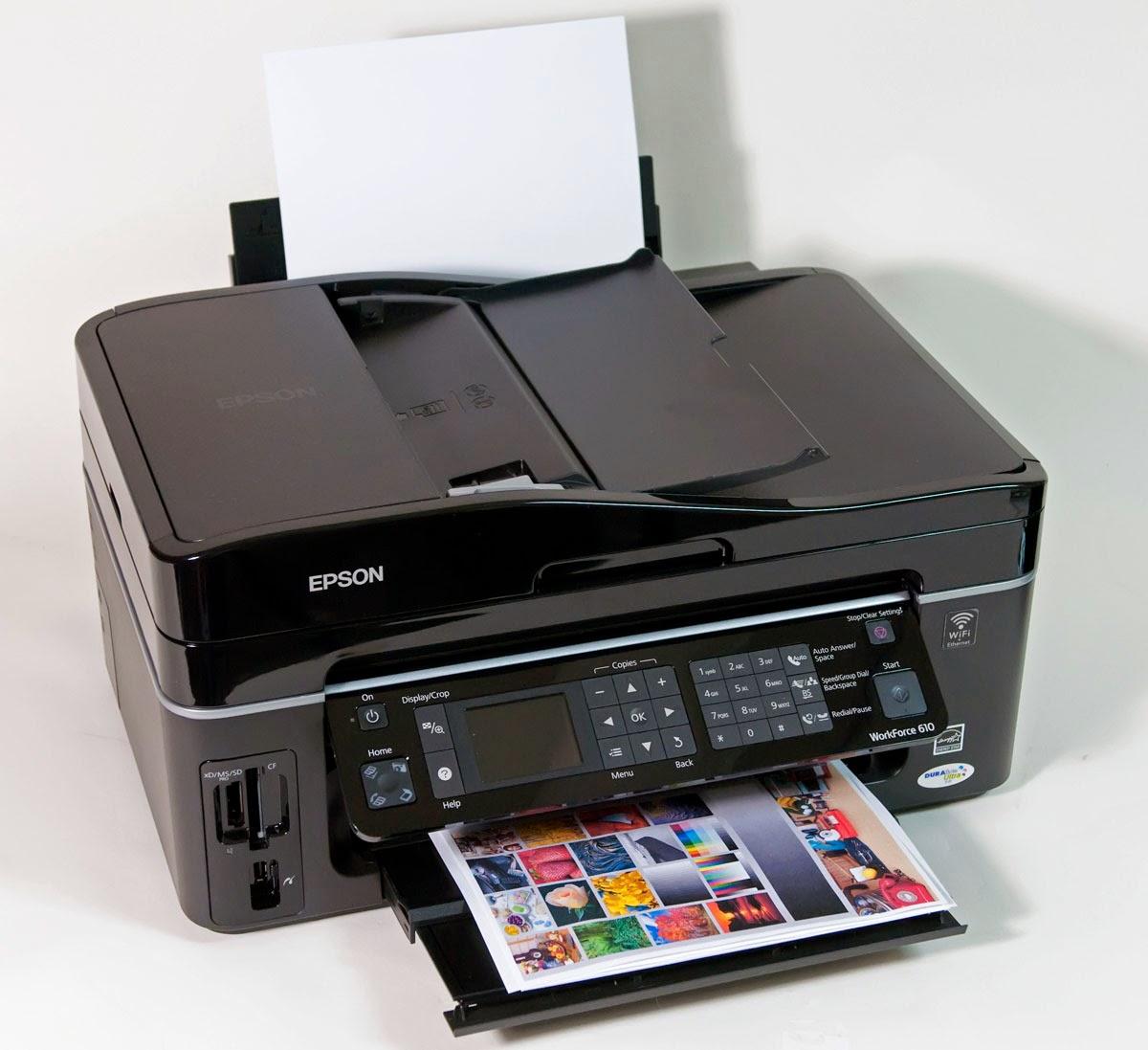 Счетчик бумаги на принтере epson