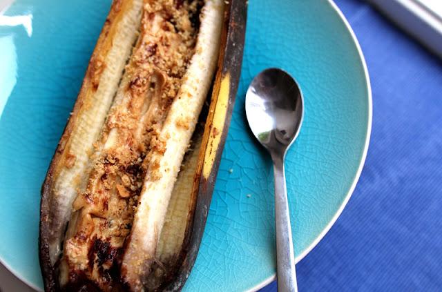Oppskrift Grillet Banan Bakt Sunne Grilltips Enkel Dessert Frukt